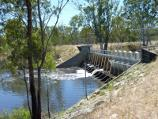 Dimboola / Weir on Wimmera River, off Golf Course Road / View across weir