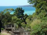 Dromana / Heronswood, Latrobe Parade / View over duck pond towards the bay