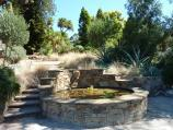 Dromana / Heronswood, Latrobe Parade / Fountain at northern end of property