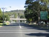 Dromana / McCulloch Street / View south along McCulloch St towards Mornington Peninsula Freeway overpass