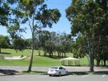 Drouin / Civic Park and John Grubb Park / Civic Park viewed from car park along Young St