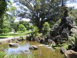 East Melbourne / Fitzroy Gardens / River God Fountain