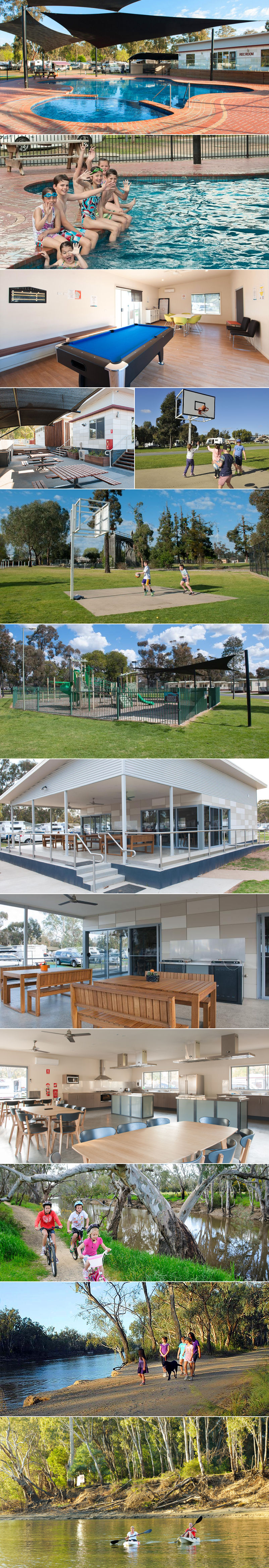 NRMA Echuca Holiday Park - Grounds and facilities
