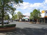 Echuca / Commercial centre and shops around Hare Street area / View north along Hare St between Pakenham St and Anstruther St