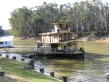 Echuca / The historic Port of Echuca / Emmylou at Riverboat Dock, Hopwood Place