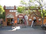 Echuca / The historic Port of Echuca / Movie House, Penny Arcade, and cruise booking offices, Watson St