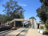Echuca / The historic Port of Echuca / Railway line at wharf