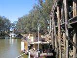 Echuca / The historic Port of Echuca / Alexander Arbuthnot, moored at the wharf