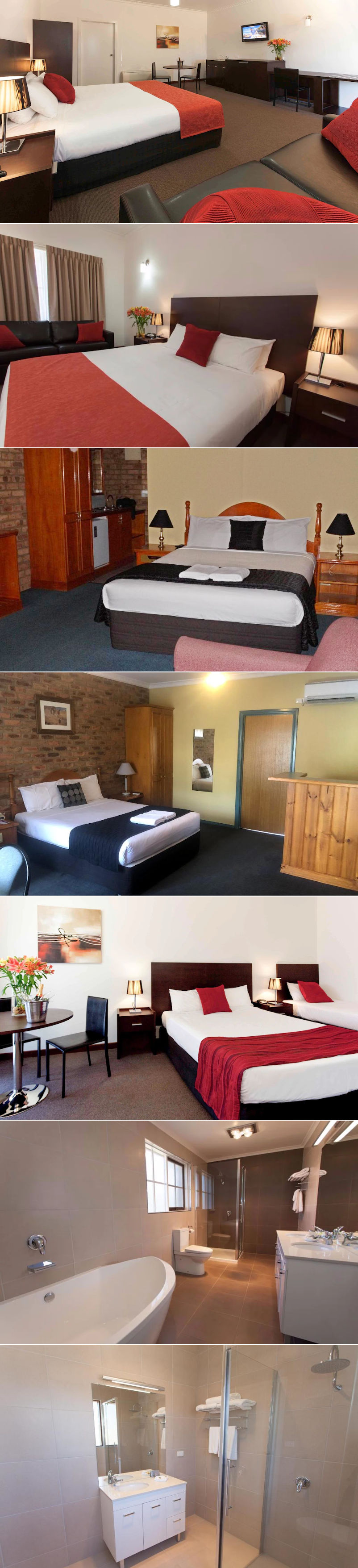 Mercure Port of Echuca Hotel - Rooms