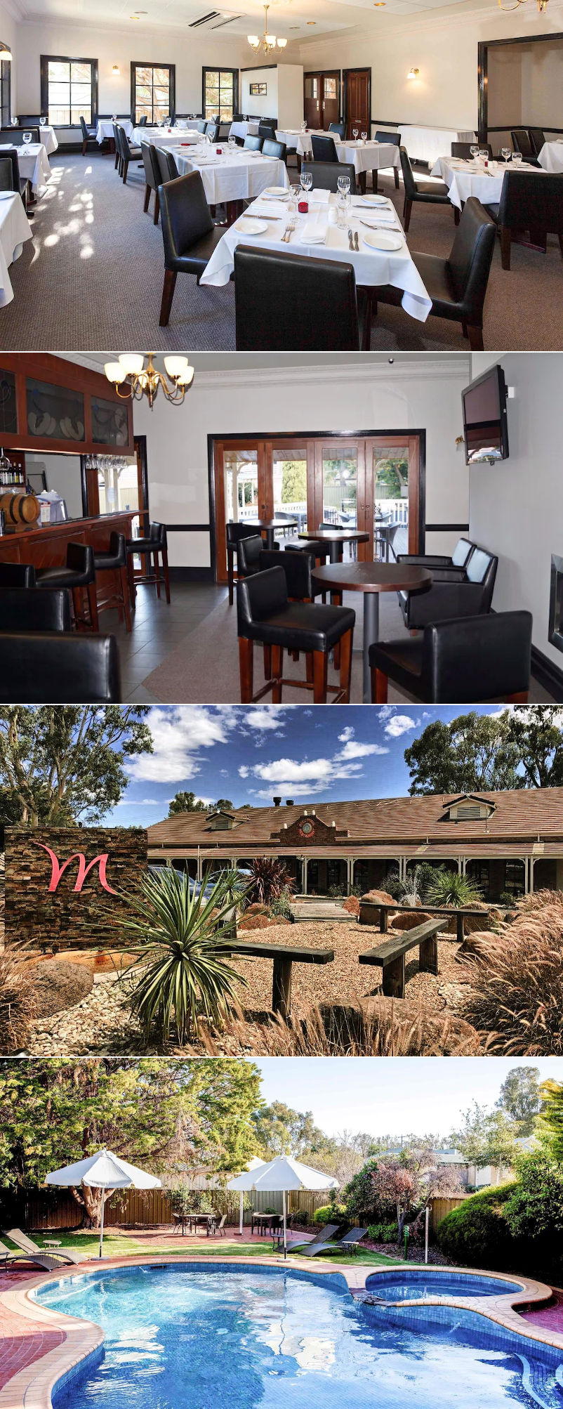 Mercure Port of Echuca Hotel - Restaurant, bar and pool