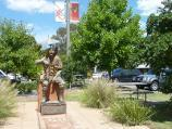 Eildon / Commercial centre and shops, Main Street / The Earl of Eildon statue fronting Main St