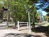 Emerald / Emerald Lake Park / Puffing Billy railway crossing on north side of Lakeside station