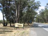 Euroa / Around Euroa and outskirts / Welcome to Euroa sign, Euroa Main Road, 3 km south-west of town centre