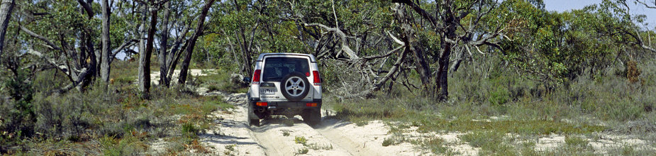 Four wheel driving - Travel Victoria: accommodation & visitor guide