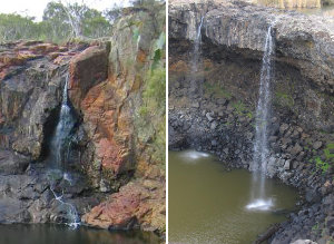 Nigretta Falls and Wannon Falls