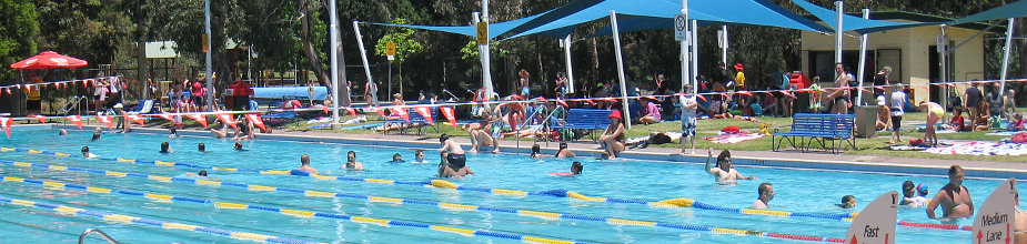 Melbourne & Suburbs aquatic centres and pools