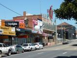 Frankston / Shops and commercial centre between Nepean Highway and Young Street / View south along Nepean Hwy towards Davey St