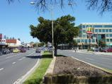 Frankston / Shops and commercial centre between Nepean Highway and Young Street / View south along Nepean Hwy towards Wells St