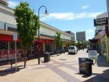 Frankston / Shops and commercial centre between Nepean Highway and Young Street / View west along Station St Mall at Clyde St