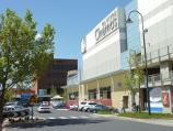 Frankston / Shops and commercial centre between Nepean Highway and Young Street / View north along Thompson St at Bayside Entertainment Centre towards Wells St