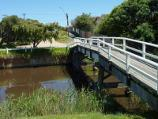 Frankston / Kananook Creek Reserve / Picnic areas in reserve opposite Davey St