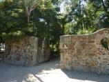 Frankston / George Pentland Botanic Gardens / Entrance gate at corner of Williams St and Foot St