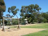 Frankston / Beauty Park / Power of Community mosaic sculpture at north-west corner of lake