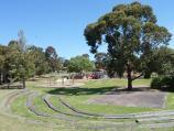 Frankston / Jubilee Park / View south from Nursery Av towards football and cricket oval