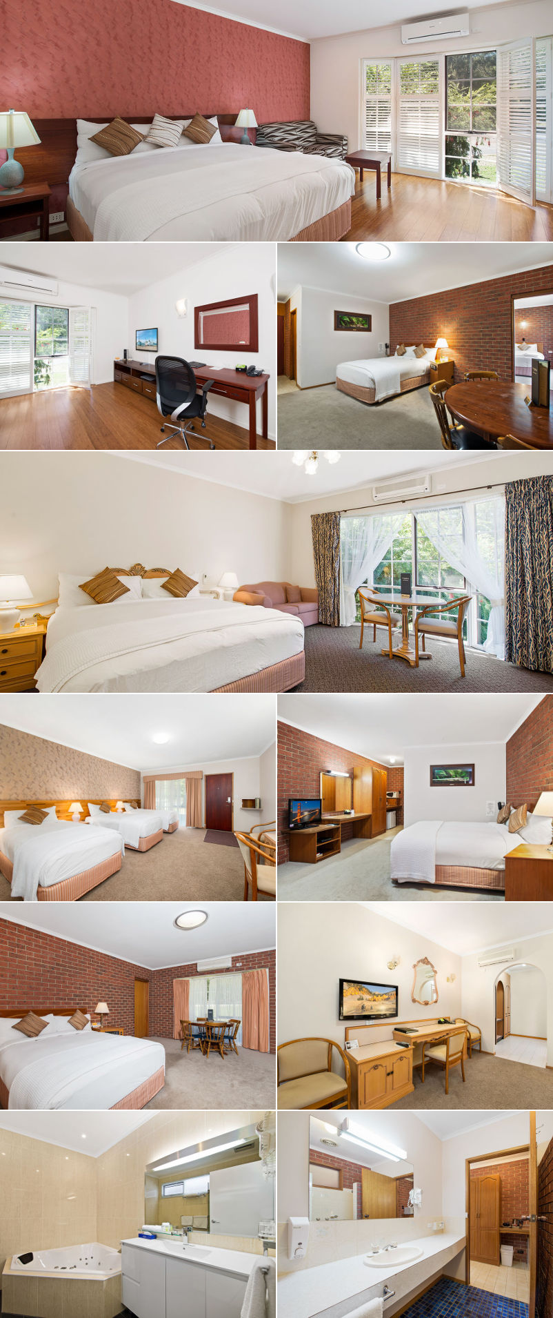 Comfort Inn Country Plaza Halls Gap - Rooms