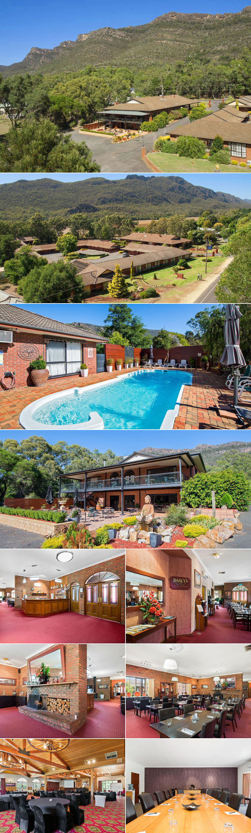 Comfort Inn Country Plaza Halls Gap - Grounds and facilities