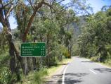 Halls Gap / Mount Victory Road / View west along Mt Victory Rd near Grampians Rd