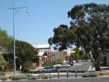 Hastings / Commercial centre and shops, High Street precinct / View west along High St at Marine Pde