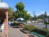 Healesville / Shops and commercial centre, Nicholson Street west of Badger Creek Road / View west along Nicholson St at Ice Creamery