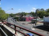 Healesville / Shops and commercial centre, Nicholson Street west of Badger Creek Road / View west along Nicholson St from Grand Hotel balcony