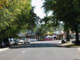 Healesville / Shops and commercial centre, Maroondah Highway east of Badger Creek Road / View north along Don Rd towards Maroondah Hwy
