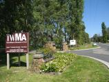 Healesville / TarraWarra Estate winery, Yarra Glen Road / Entrance to TarraWarra Estate