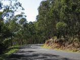 Healesville / Malleson Lookout, Don Road / View along Don Rd at lookout