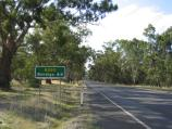 Heathcote / Around Heathcote / View north-west along McIvor Hwy, west of town centre