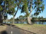 Horsham / Wimmera River at southern end of Eastgate Drive / Pathway along river
