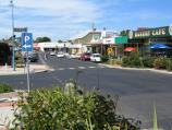 Inverloch / Shops and commercial centre, A'Beckett Street and Williams Street / View east along A'Beckett St at Reilly St