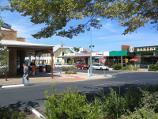 Inverloch / Shops and commercial centre, A'Beckett Street and Williams Street / View east across Reilly St at A'Beckett St