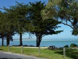 Inverloch / Beach along Ramsey Boulevard at Western Street / View from Ramsey Bvd towards Point Smythe