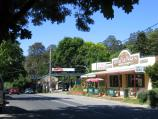 Kallista / Commercial centre and shops, Monbulk Road / View north along Monbulk Rd