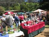 Kallista / Village Green and community house, Church Street / Saturday art & craft market