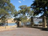 Kyneton / Lauriston Reservoir / Entrance gate to reservoir