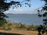 Lake Bolac / Lake Bolac, Frontage Road area / View east across lake, east of recreation reserve