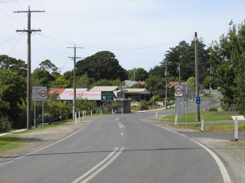 Great Ocean Road - Lavers Australia  City pictures : ... / View north east along the Great Ocean Road through Lavers Hill