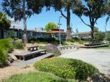 Lilydale / Shops and commercial centre, Main Street / Gardens at war memorial, Main St east of Clarke St