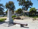 Lilydale / Shops and commercial centre, Main Street / War memorial, south side of Main St east of Clarke St