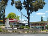 Lilydale / Shops and commercial centre, Main Street / View south across Main St towards war memorial